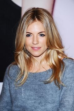 love this hair color!    #hair #sienna miller