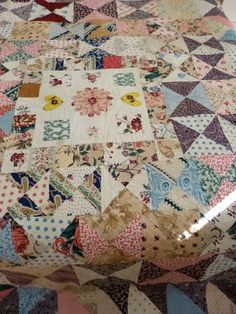 English patchwork: The Antique Textiles Company, London
