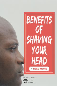 some men shave their head because they think it requires less work than to maintain hair but this is false as the shaven head needs much attention. Shaving Cut, Shaving Your Head, Shaving Tips, Beard Accessories, Best Shaving Cream, After Shave Balm, Beard Grooming, Beard Balm, The Balm