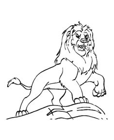 Mufasa From The Lion King Coloring Page : Color Luna Lion Coloring Pages, Online Coloring, Disney Cartoons, King, Display, Writing, Pictures, Photos, Billboard