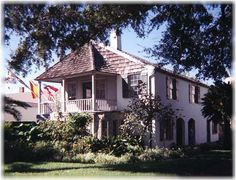 The Oldest House in America - St Augustine, Florida