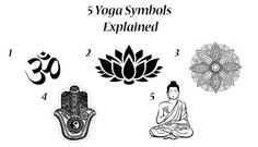 In this article I will explain you the true meaning of the 5 common Yoga Symbols. Starting with the popular OM symbol and finishing with the sacred Buddha.