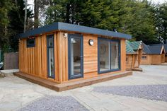 A look at one of our garden rooms at the show site.  #GardenRoom #GardenRooms #Cabin #Cabins