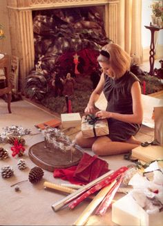 Grace Kelly Christmas #LillyHoliday