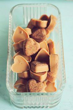 Cinnamon, peanut butter, coconut oil dog treats