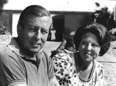Queen Beatrix and her husband, Prince Claus.