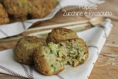 Polpette Zucchine e Prosciutto cotto