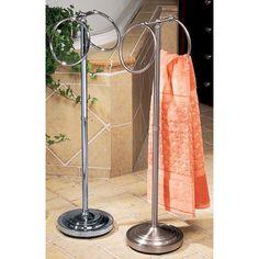 Standing Floor Towel Ring