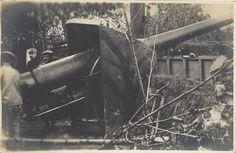 (1915-18) Cannone 152 artiglieria della Marina