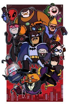 Arkham Warriors