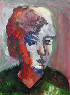 Elmer Bischoff - Head of a Woman