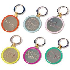 Personalize your #diaperbag with the Cinco Powell #medallions.