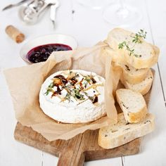 It is a Camembert. And it is BAKED. What more do you need to know?Find the recipe here.What to drink: A red Bordeaux.For dessert: A tarte tatin, a French apple pie, to end the meal on a sweet and light note. Here is the recipe.