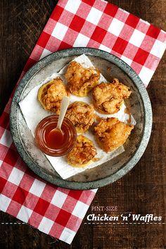 Pint-Size Chicken 'n' Waffles!