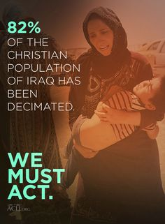 ISIS is waging a brutal genocide against Christians in the Middle East. We cannot remain silent. Savior, Jesus Christ, Persecuted Church, Law And Justice, Sisters In Christ, Follow Jesus, Persecution, Change The World, Grief