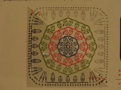 Mi Crochet, Mis Tejidos por Luna: Abuelita con hexágono en el centro, más el patrón