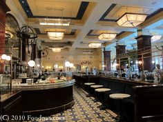 One of our favorite, fabulous restaurants.  Bouchon in Vegas.