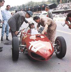 Willy Mairesse SPA 1962 Ferrari 156