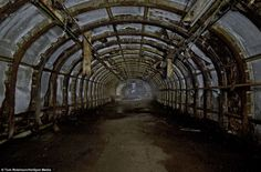 Second World War: tunnels safe from German bombers where British workers made munitions for Britain to defeat Hitler   Daily Mail Online Pride Of Britain, Battle Of Britain, Great Britain, The Spitfires, Arms Race, Automobile Industry, War Machine, World War Two, Mail Online
