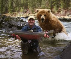 Fly Fishing: completely oblivious                              …