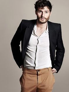 Jamie Dornan. so attractive. why'd he have to be killed on once upon a time?!