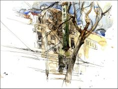 Marc Holmes . Urban Sketchers