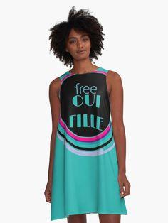 « Free oui fille - free wifi  » par LEAROCHE Free Wifi, People, Fashion, Gowns, Moda, Fashion Styles, People Illustration, Fashion Illustrations, Folk