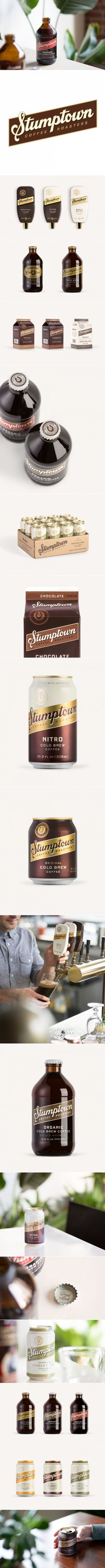 Stumptown Found Beer-spiration For Their Cold Brew Line — The Dieline | Packaging & Branding Design & Innovation News