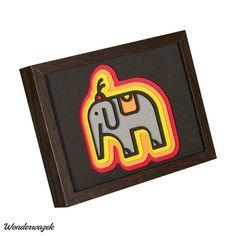 LAYER IMAGE circus elephant / Zirkuselefant | Etsy Image Circus, Creative, Layers, Elephant, Etsy, Art, Custom Cars, Dragons, Handmade