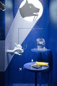 (A través de CASA REINAL) >>>>  window store display, Hermes, Milan, August 2014