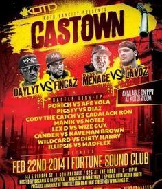 Gastown Early Show FEB 21 FORTUNE SOUND CLUB Electronic Music, Dj, Club