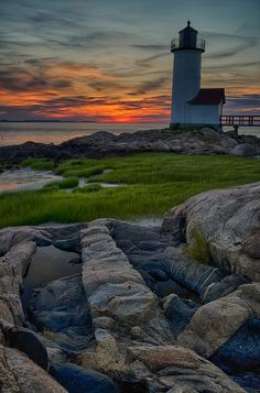 Annisquam Lighthouse, Boston, Massachusetts