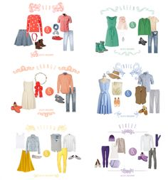 Summer Family Picture Outfits Discover Colors Of The Rainbow Family Photo Colors, Family Picture Outfits, Couple Outfits, Prenup Ideas Outfits, Family Portrait Outfits, Blue Outfits, Outfit Ideas, Family Posing, Family Portraits