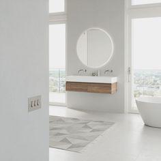 Let us help you create your dream bathroom, from custom floorplans to bathroom furniture visualization. Bathroom Furniture, Wooden Bathroom, Drawers, Bathtub, Floor Plans, Cabinet, Mirror, Inspiration, Home Decor