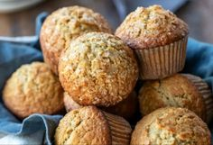 The best recipe for maple brown sugar oat muffins! - I love these little seasonal muffins! They are nutritious, delicious and really easy to prepare :] - Zucchini Bread Muffins, Banana Bread Muffins, Oatmeal Muffins, Healthy Bread Recipes, Muffin Recipes, Brunch Recipes, Breakfast Recipes, Healthy Breakfasts, Eat Breakfast
