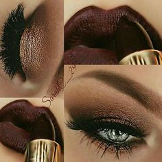 This would be beautiful for my green eyes. Love the color of the lipstick too!