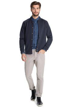 edc : Camisa estampada en la Online-Shop