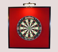 Puzzle Dartboard Surround für Bristle Dartboards Schwarz