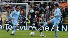 Newcastle 0 - 2 Man City
