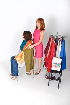 The Personal #Color Analysis Draping Example at #www.inventyourimage.com