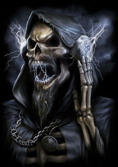 Death Metal 666 art  by Yigit Koroglu