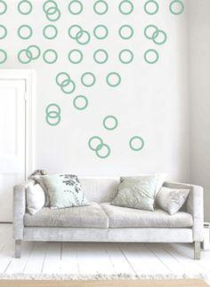 Bubbles Pattern Wall art South Africa Stickart