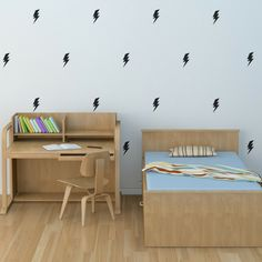 Lightning Bolt Wall Decals - Multiple Colors – Project Nursery