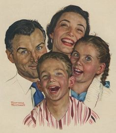 Norman Rockwell - Family