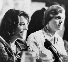 Carpenters press conference in Japan 1974.