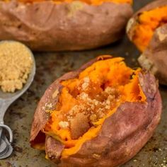 These Crock Pot Sweet Potatoes are the easiest way to make baked sweet potatoes in the crock pot. Grab your slow cooker and make this sweet potato recipe immediately. You'll never make them another way again!