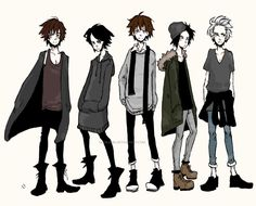A few male fashion designs.which one is your favorite? On Tumblr: thenamesmadlibbs.tumblr.com/po…