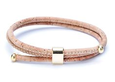 #Bracelet made of silky smooth #cork #leather | 100% #sustainable & #vegan | CHF 18.30 | free delivery & return within Switzerland