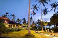 The open-air sea view restaurant @ Shantaa Resort Koh Kood (Thailand)