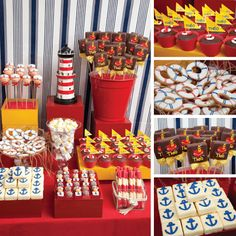 Tema de festa: marinheiro! Party Theme: sailor!